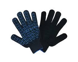 <b>Перчатки</b> хб 4 нити с <b>ПВХ</b> 10 класс Волна <b>черные</b> | Спецодежда ...