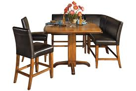 dining room pub style sets: ashley furniture d urbandale dining set