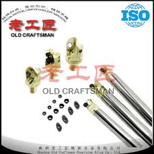 China <b>Solid Carbide</b> Screw-in Type <b>Anti</b>-Shock Milling Round Bar ...