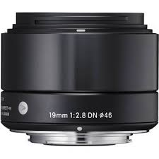 <b>Sigma AF 19mm f/2.8</b> DN MFT Black Lens - michaels camera video ...