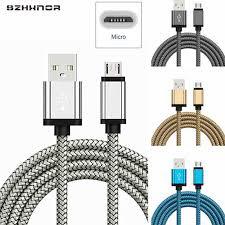 0.2/1/2 <b>Meter Micro</b> USB Charging Nylon <b>Braided MicroUSB</b> ...