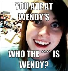 "That's what she said"" Who's ""SHE""?! - Overly Attached Girlfriend ... via Relatably.com"