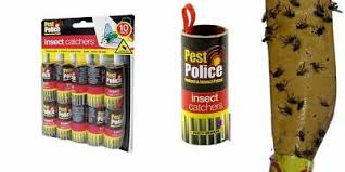 <b>FLY</b> PAPER <b>STICKY</b> Glue Insect Bug Catcher Killer Strong <b>Roll</b> ...