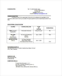 best resume formats 40 samples examples format ece resume template format