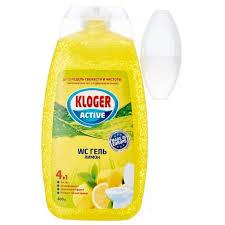 <b>Kloger</b> гель для туалета с <b>подвеской</b> на <b>унитаз</b> Лимон - купить ...
