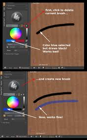 Texture <b>paint's</b> brush is always <b>black</b> - Blender Stack Exchange