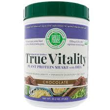 <b>True Vitality</b> Meal Replacement, <b>Plant</b> Protein Powder | Shopee ...