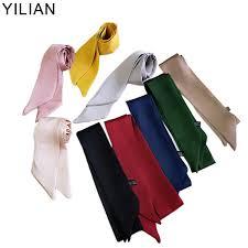 <b>YILIAN</b> Brand Belt Chain Print Skinny Scarf <b>2019</b> Silk Scarf For ...