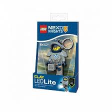 LGL-KE87 <b>Брелок</b>-фонарик <b>LEGO Nexo Knights</b> - Clay