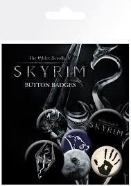 Официальный <b>набор значков</b> — <b>Skyrim</b> - Cosmic Shop ...