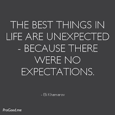 Hand picked eleven well-known quotes about unexpected picture ... via Relatably.com