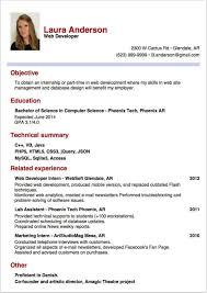 writing a successful internship report   part    resume cv      sample resume for internship