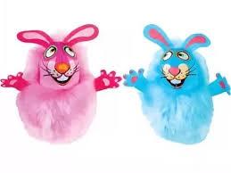 Игрушка Fat <b>Cat Fluff</b> Bunnies Cat Toy Пушистый кролик для ...