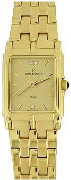 Женские <b>часы Romanson</b> Adel Square <b>TM8154CLG</b>(<b>GD</b>)