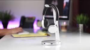<b>Satechi</b>® <b>Aluminum USB</b> 3.0 Headset Stand - YouTube