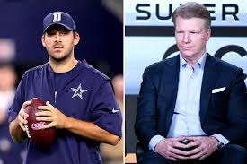tony romo taking phil simms spot at cbs new york post