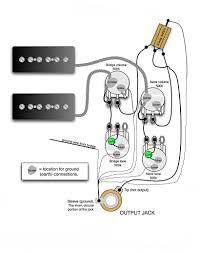 wiring diagram two single coil pickups wirdig single conductor humbucker wiring diagram single wiring