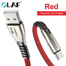 <b>OLAF 3A</b> Type C <b>Micro USB</b> Fast Charge for Samsung Xiaomi ...