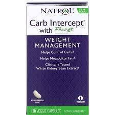 Natrol, <b>Carb Intercept с</b> Phase 2 Carb Controller, 120 растительных ...