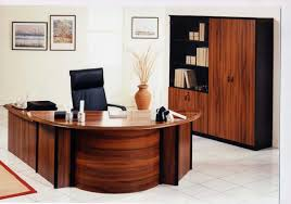 wood office desk elegant home office design ideas shaped curve corner wooden office desk black leather awesome wood office chairs