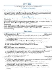 professional financial operations director templates to showcase resume templates financial operations director