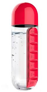 Купить <b>Бутылка</b> asobu In style (<b>0</b>,<b>6</b> л) красный по низкой цене с ...