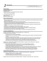 Resume Templates  Entry Level Nursing Assistant