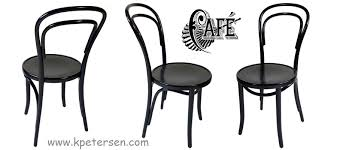 14 thonet bentwood chair black lacquer details black bentwood chairs