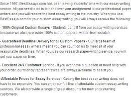 best essay writing service bestessays