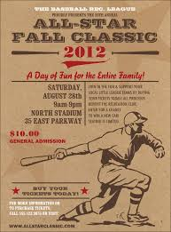 baseball posters and flyers posters and flyers printing all star retro baseball flyer