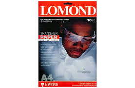 <b>Термотрансферная бумага LOMOND</b> Transfer Paper for bright ...