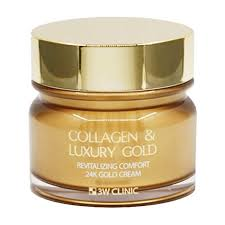 <b>Крем для лица</b> 3W Clinic Collagen & <b>Luxury</b> Gold Cream – купить в ...