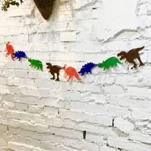 Olevovo Dinosaur Happy Birthday Decoration Children Baby ...