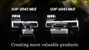 <b>UJF</b>-<b>3042</b>/6042 MkII | <b>MIMAKI</b> ENGINEERING CO., LTD. - YouTube