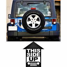 <b>car sticker</b> 1pc rear <b>window</b> badges detailing this <b>side</b> up graphic ...