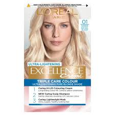 <b>LOreal Paris</b> Excellence Creme Lightest Natural Blonde <b>01</b> ...