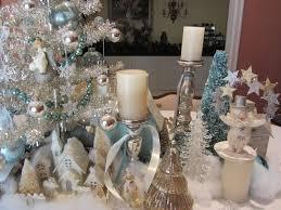 white silver christmas decoration