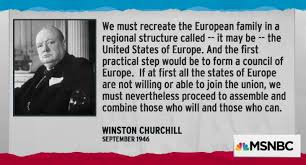 「1946, winston churchill made speech about the need of Council of Europe」の画像検索結果