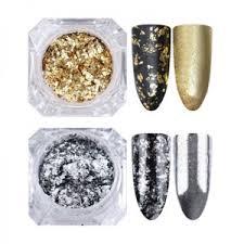 Глиттер для ногтей <b>BORN PRETTY</b> Mirror Glitter Silver Gold Nail ...