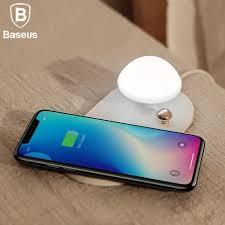 Wholesale <b>Baseus mushroom lamp</b> Desktop wireless charger 10W ...