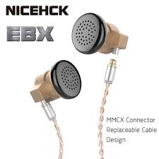 NICEHCK EBX Ear Hook Earbud <b>HIFI Metal Earphone</b> 14.8mm ...