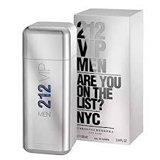 212 Vip by Carolina Herrera Eau De Toilette Spray ... - Amazon.com