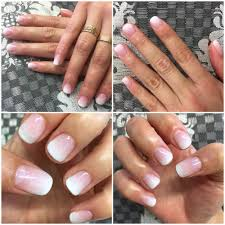 ombr eacute gel french tips gradient nails by amy highly recommend her 194 photos for lotus nails spa