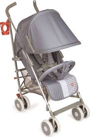 <b>Happy Baby Коляска-трость</b> Cindy Light Grey — купить в интернет ...