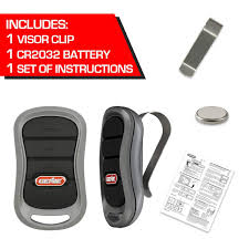 GENIE G3T-R <b>3</b>-<b>Button Remote</b> with Intellicode Security Technology ...