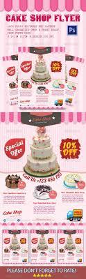 17 best images about print templates black business cake shop flyer