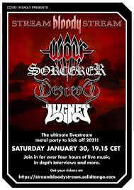 "Sorcerer to join Wolf, Descend, Lugnet for ""Stream <b>Bloody Stream</b> ..."