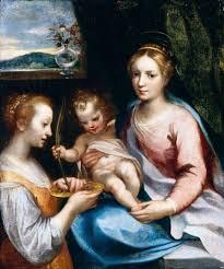 Francesco Vanni, Madona s dítětem a se sv. Lucií