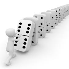 monday inspiration create a domino effect nina amir domino effect