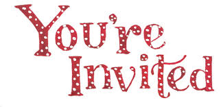 Image result for you're invited clipart
